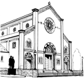 St Ambrose Church and School St Louis Logo
