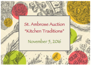 St. Ambrose Auction
